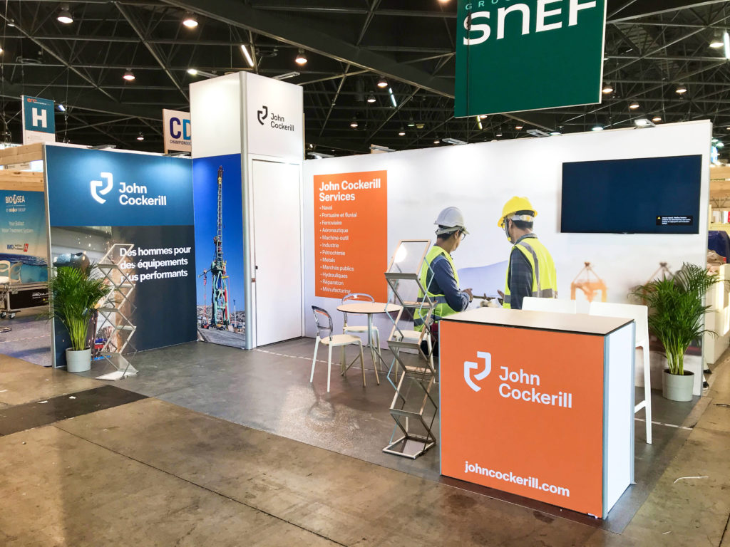 Stand packagé